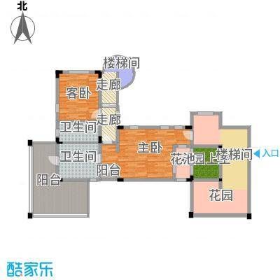 龙泉谷・三亚的山62.39㎡一期兰庭苑独栋B户型4室5厅7卫