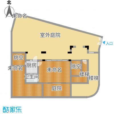 龙泉谷・三亚的山80.00㎡二期叠泉苑C户型2室2厅1卫