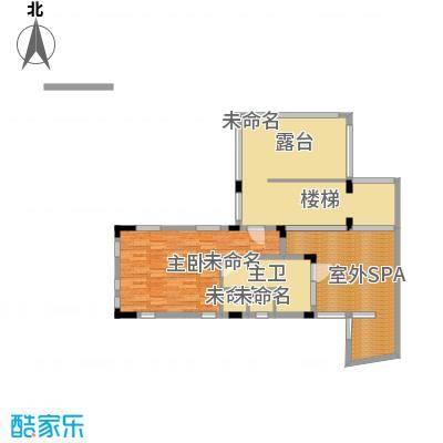 龙泉谷・三亚的山83.00㎡二期叠泉苑A户型2室2厅2卫