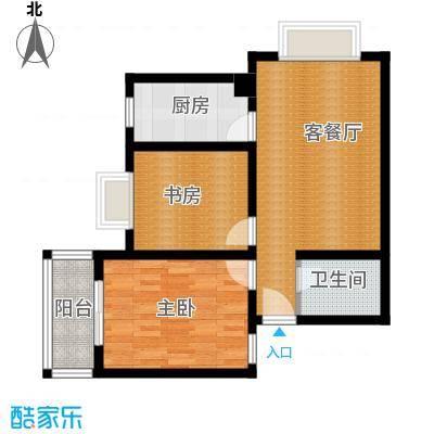 武夷绿洲65.91㎡B21户型10室