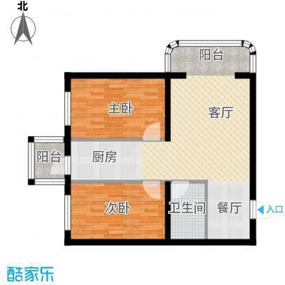 宝融上元府邸68.06㎡多层户型10室