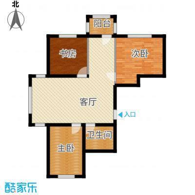 宇光万和城110.02㎡3号楼户型3室1厅1卫