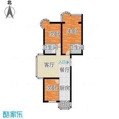 宝融上元府邸115.82㎡高层户型10室