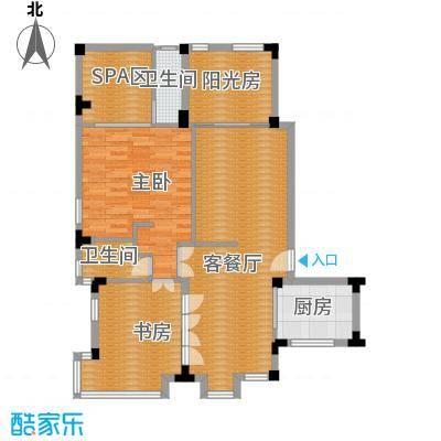 凤凰水城御河湾108.00㎡A1-a户型2室2厅2卫