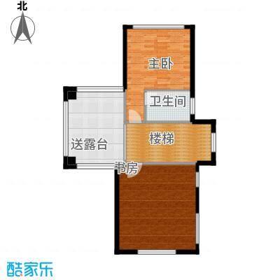 凤凰水城御河湾69.00㎡二层平面图户型10室