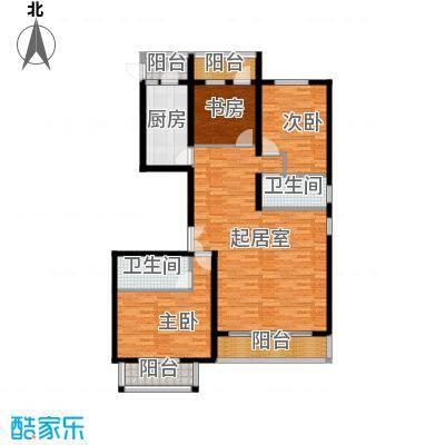 澳洲城139.00㎡F户型3室2厅2卫