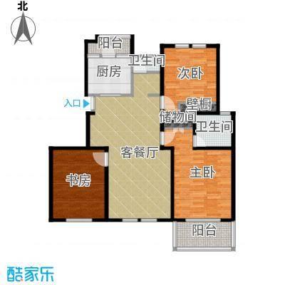 中豪天禄119.00㎡乙-1a户型10室