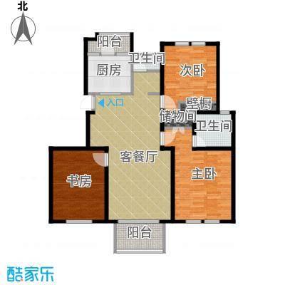 中豪天禄118.00㎡乙-1户型10室