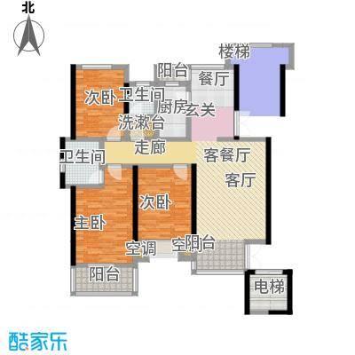 豪门府邸137.67㎡豪门府邸户型图(44/44张)户型10室