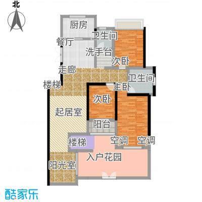 豪门府邸148.17㎡豪门府邸户型图10#B户型一层三室两厅两卫(21/26张)户型3室2厅2卫