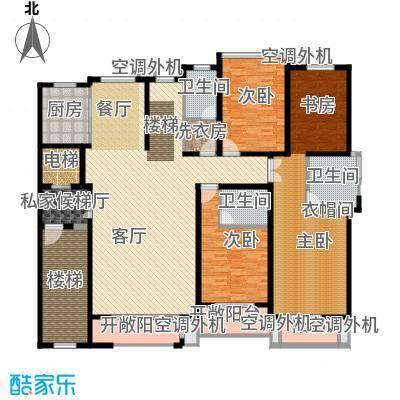 豪门府邸149.29㎡11#2-6层-户型3室1厅3卫1厨