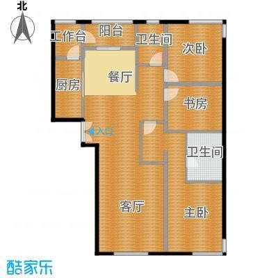 中央悦城154.32㎡C4户型3室2厅2卫