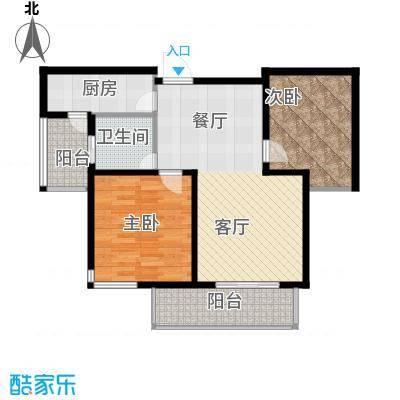 金泉泰来苑82.00㎡88m2户型10室