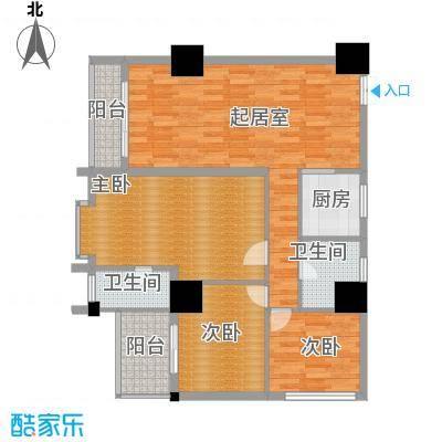 太阳岛公寓124.00㎡户型10室