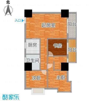 太阳岛公寓126.00㎡户型10室