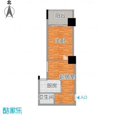 太阳岛公寓60.00㎡户型10室