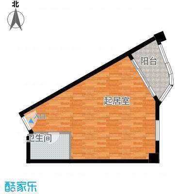 国光滨海花园55.15㎡户型10室