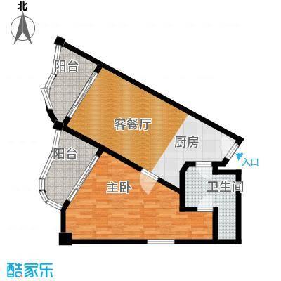 国光滨海花园77.62㎡户型10室