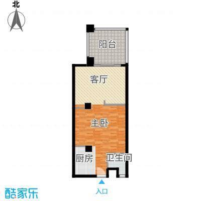 国光滨海花园80.72㎡户型10室