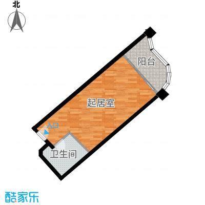 国光滨海花园42.36㎡户型10室