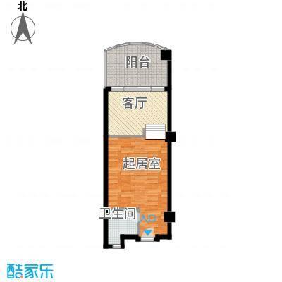 国光滨海花园48.69㎡户型10室