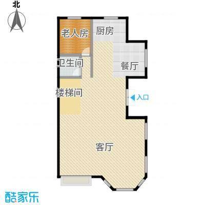 江南新城116.76㎡美墅邻户型10室