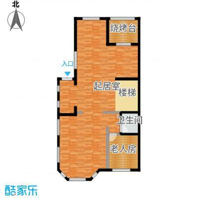 江南新城121.97㎡美墅邻户型10室