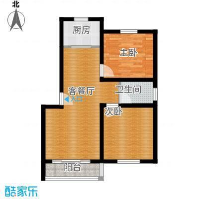 鑫龙花苑79.36㎡户型10室