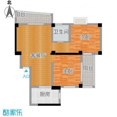 永利商住公寓85.28㎡户型1厅1卫1厨