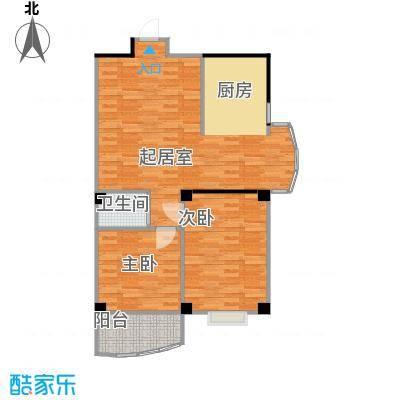 永利商住公寓85.28㎡户型2室1卫