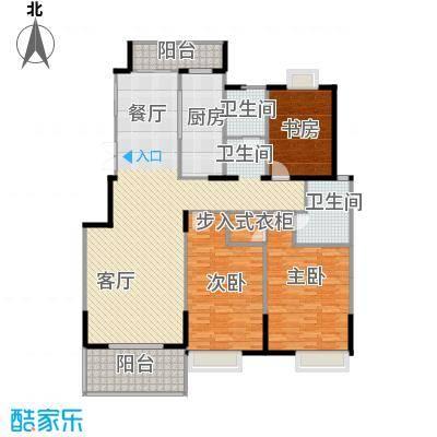 国信来凤街1号150.00㎡D2平层叠墅户型10室