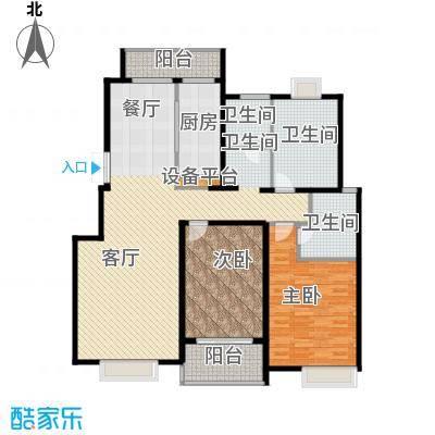 国信来凤街1号145.00㎡D层叠墅户型10室