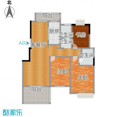 国信来凤街1号140.00㎡D4户型10室