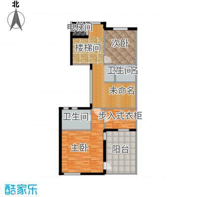 宏图上水庭院99.31㎡Db四层户型10室