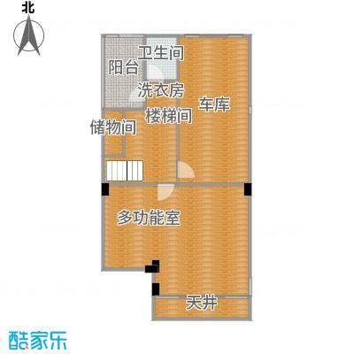柏悦澜庭83.00㎡别墅S1地下一层户型10室