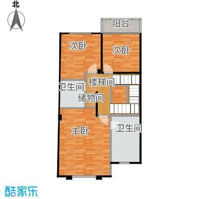 柏悦澜庭85.00㎡别墅S2二层户型10室