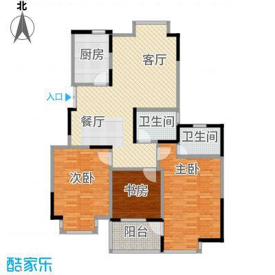 金浦名城世家112.91㎡C1户型10室