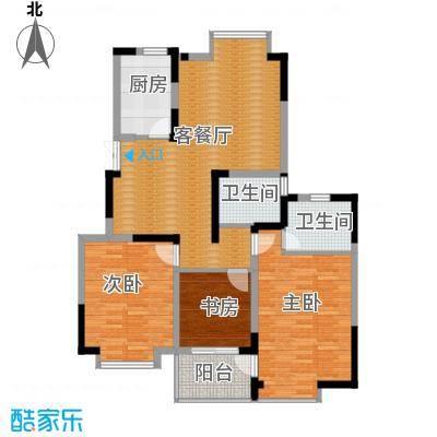 金浦名城世家112.91㎡3号楼C1户型3室2厅2卫