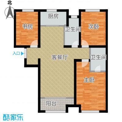 想象国际98.60㎡户型3室2厅2卫