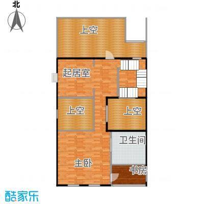 御江金城76.11㎡K2型三层户型10室