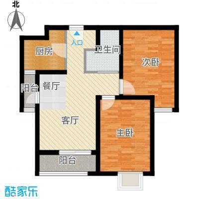 紫晶悦城88.00㎡B户型10室
