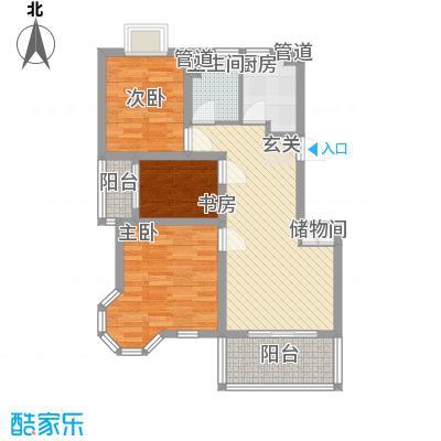 上海绿地香颂公寓91.18㎡上海绿地香颂公寓户型图公寓A户型(售罄)2室2厅1卫户型2室2厅1卫