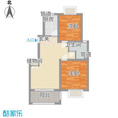 上海绿地香颂公寓80.43㎡上海绿地香颂公寓户型图公寓B户型(售罄)2室2厅1卫户型2室2厅1卫