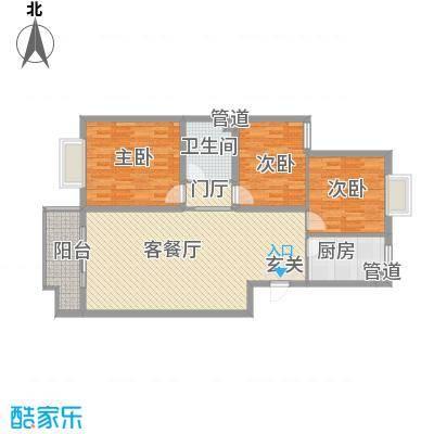 腾骐骏安115.18㎡腾骐骏安户型图4-2户型3室2厅1卫1厨户型3室2厅1卫1厨
