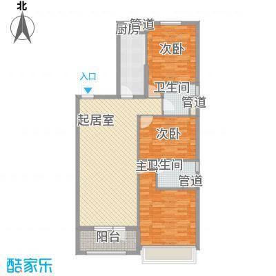 越秀・星汇蓝海117.00㎡越秀・星汇蓝海户型图C1户型3室2厅2卫户型3室2厅2卫