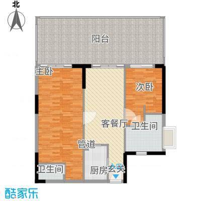 KPR佳兆业广场148.00㎡KPR佳兆业广场户型图2栋、3栋2房2厅2卫1厨148平2室2厅2卫1厨户型2室2厅2卫1厨