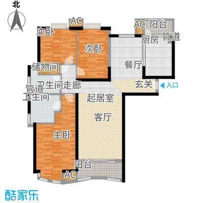 莱诗邸151.64㎡上海莱诗邸户型10室
