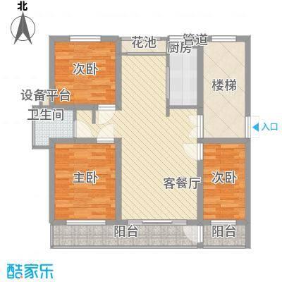金榜华庭厚德多层 3室2厅1卫1厨 108.50㎡