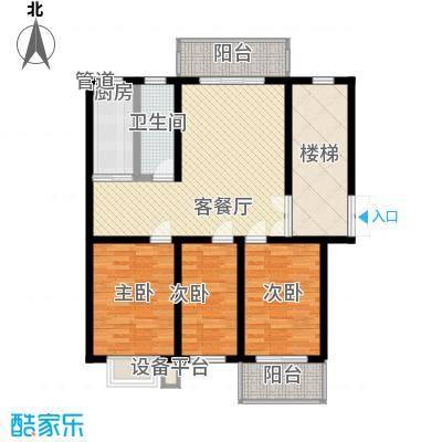 金榜华庭润泽多层 3室2厅1卫1厨 122.50㎡