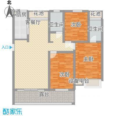 金榜华庭世家小高层 3室2厅2卫1厨 139.20㎡